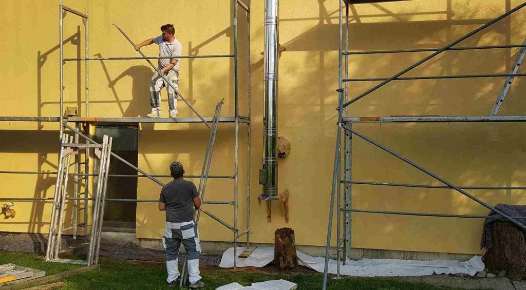 Malerbetrieb Josef Patoc Niefern Oeschelbronn Leistungen Fasadenarbeiten